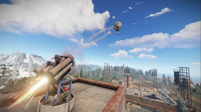 Rust soars to all-time high player count after hot air balloon update