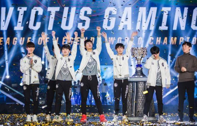 China's Invictus Gaming crowned League of Legends world champions