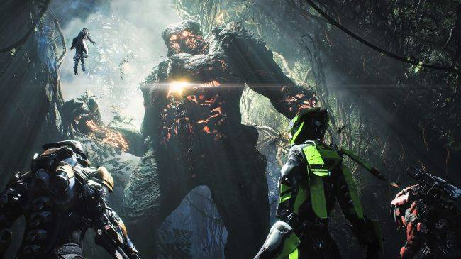 Anthem dev stream shows open world roaming, combat, and a snazzy cape
