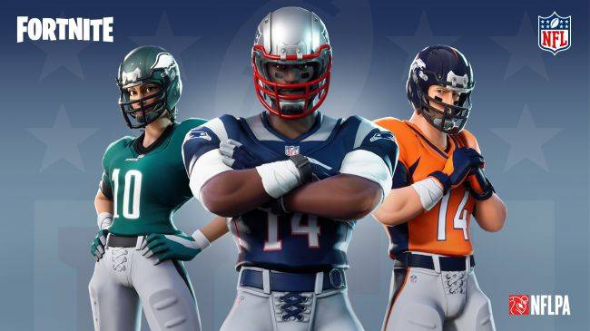 Official NFL skins are coming to Fortnite
