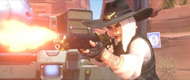 Overwatch's new hero Ashe is now playable on the PTR