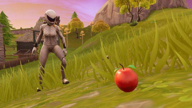 Where to find apples for Fortnite's healthiest challenge yet