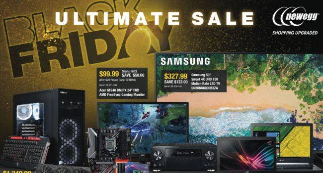 Newegg kicks off its Black Friday sale early, here are the best deals so far