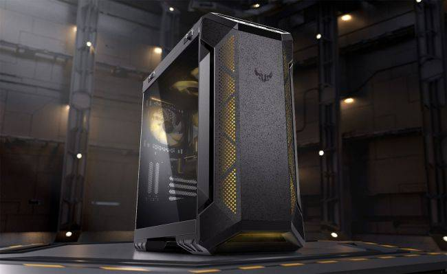 Asus finalized the design on its first standalone PC case, and it looks rugged