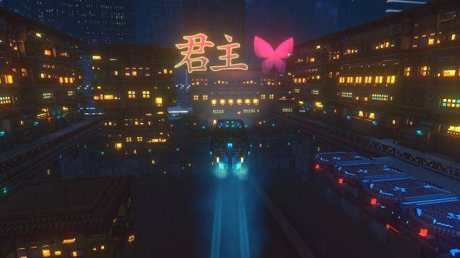 Watch a gorgeous trailer for Cloudpunk, a game about a courier in the clouds