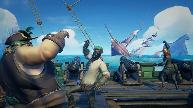 Sea of Thieves competitive PvP mode announced, out next year