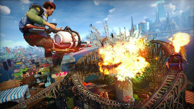 Sunset Overdrive for PC's Amazon listing has a release date, and it's very soon