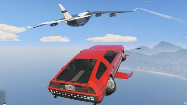 Get extra cash for import/export sell missions in GTA Online, and save on this rad flying car