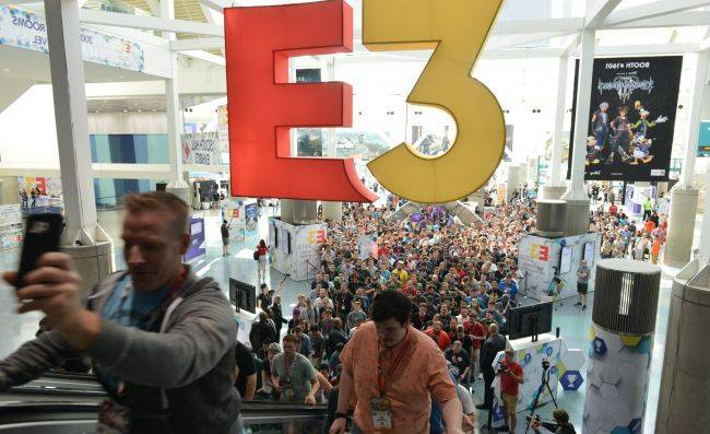 E3 is getting smaller next year