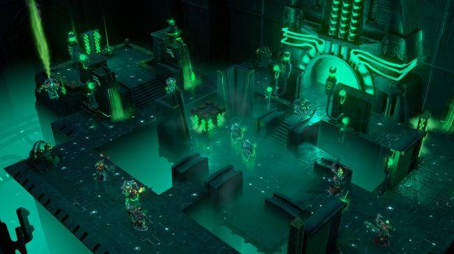 Fight undead robots in Warhammer 40,000: Mechanicus, out now