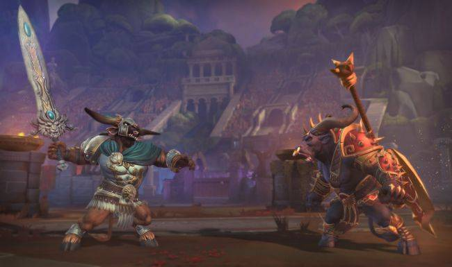 Smite's new arena map is live now, complete with angry Minotaurs