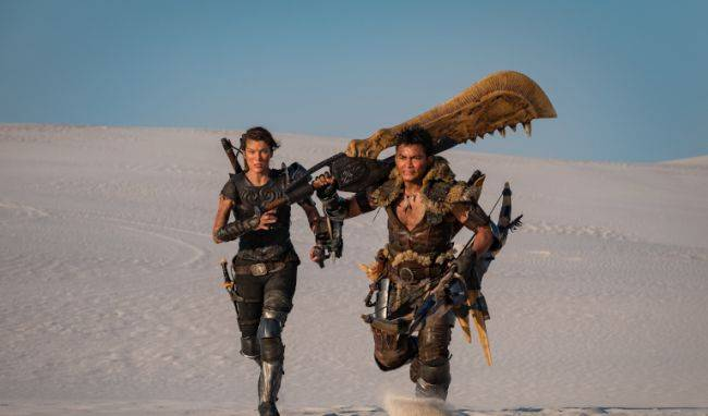 The Monster Hunter movie actually looks like the games in a new photo