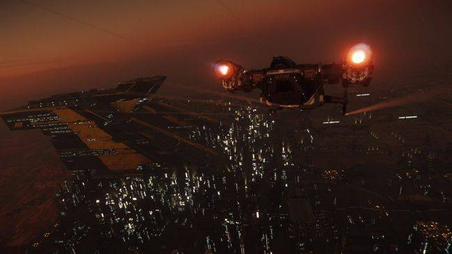 The latest Star Citizen update lets you explore the sim's first world