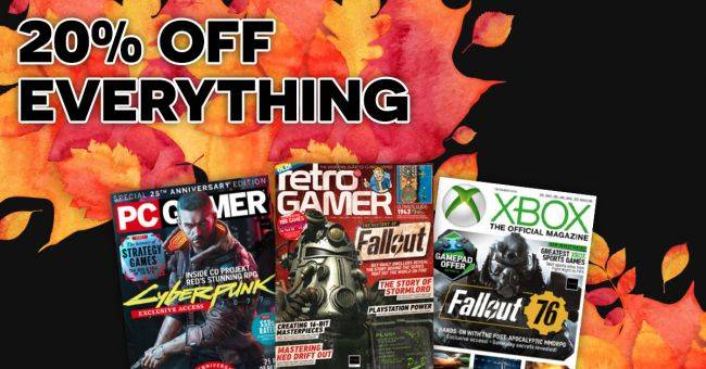 Get a one year PC Gamer subscription for $19.20