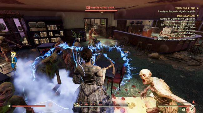 A Fallout 76 bug has made one player invincible
