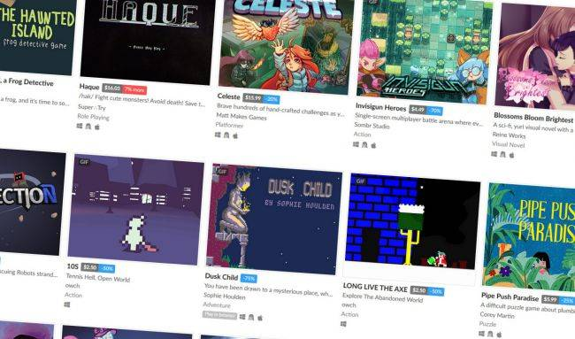 Itch.io's Black Friday 'Not-a-Sale' is raising funds for charity