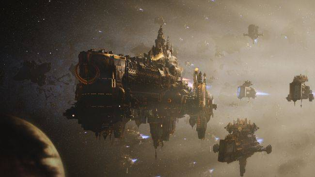 Battlefleet Gothic: Armada 2's RTS battles will be much larger than in the original