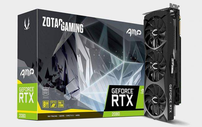 Zotac's RTX 2080 AMP graphics card is $80 off right now