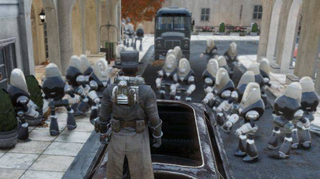 Fallout 76 glitch spawns a gazillion robot butlers and gardeners