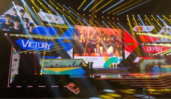 Esports is an official medal event at the Southeast Asian Games