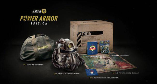 Bethesda's solution to Fallout 76 Power Armor Edition bag-switch crisis is Atoms