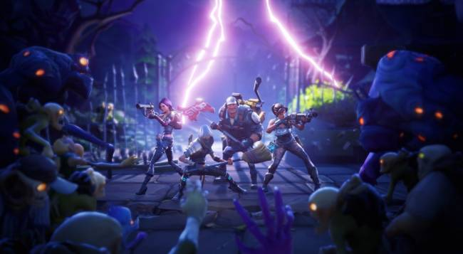 Fortnite's Save the World Co-Op Mode Staying