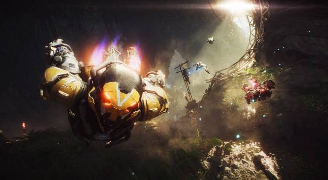 Take A Look At Forty Minutes Of Anthem Gameplay