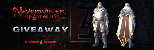 Enter to win a sweet Neverwinter cloak in honor of Heart of Fire for PC