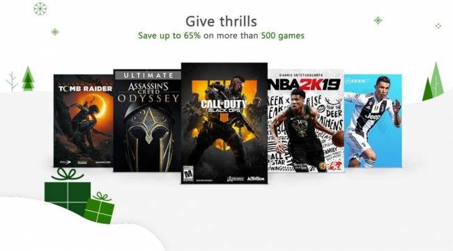 Xbox Black Friday Games Sale Starts for Gold Subscribers