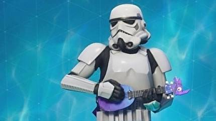Of course, Star Wars is now in Fortnite