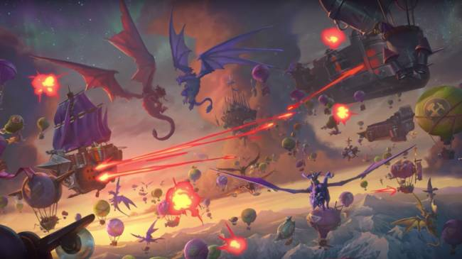 Blizzard Announces Hearthstone: Descent of Dragons And New Battlegrounds Game Mode