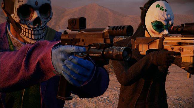 Payday 2 is getting a free update and more DLC tomorrow