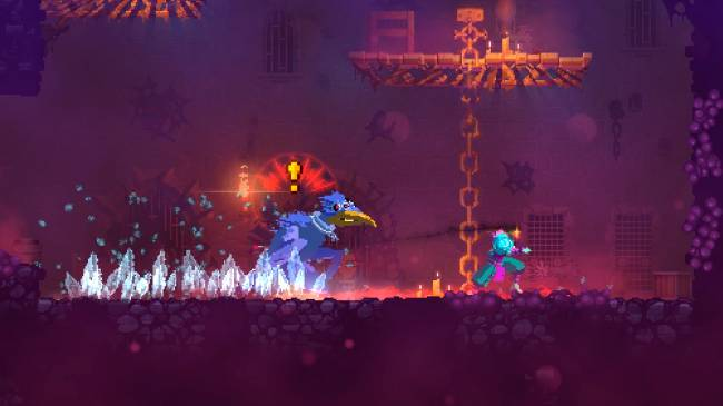 Dead Cells has a big new update that adds horrible death birds