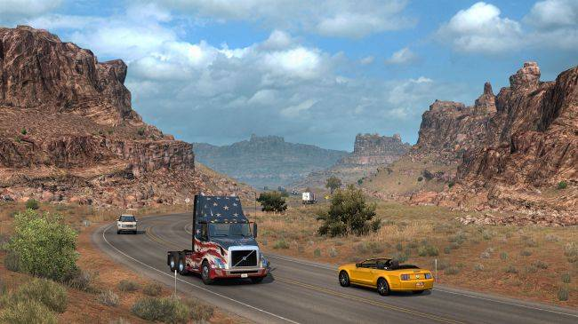 American Truck Simulator is free to play this weekend