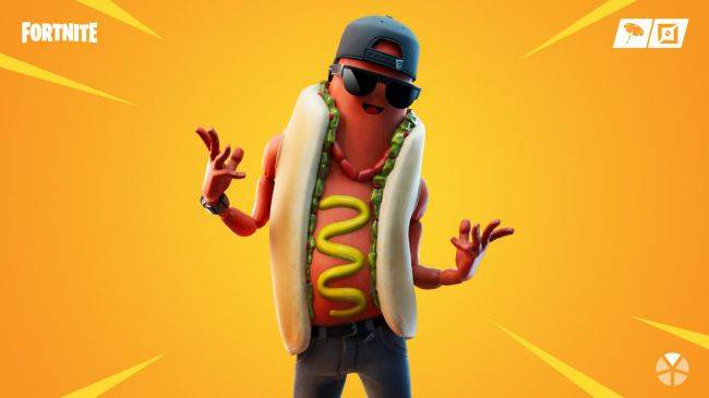 Bananas are for losers, the new hot Fortnite skin is a big stick of meat