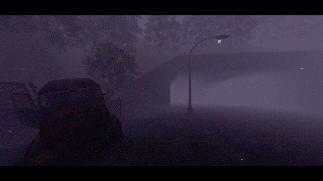 Play the opening of Silent Hill in first-person