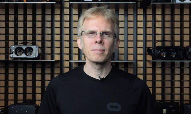John Carmack says he's not 'satisfied with the pace of progress' in VR development