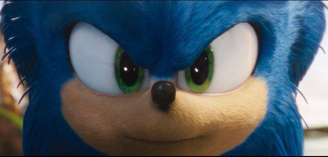 Sonic the Hedgehog is back, with a new look and fewer human teeth