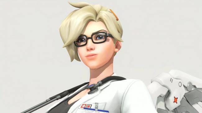 Score a Legendary Overwatch skin and other cosmetics in Mercy's Recall Challenge