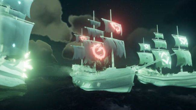 The next Sea of Thieves update adds a ghostly new Tall Tale and flaming cannonballs