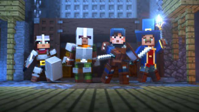 Minecraft Dungeons has a firm release month