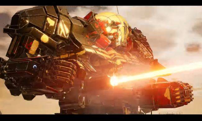 Watch giant fighting robots demolish a town in this Mechwarrior 5 gameplay video