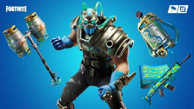 You merely adopted Fortnite's Slurp. This 'Big Chuggus' skin was born in it.