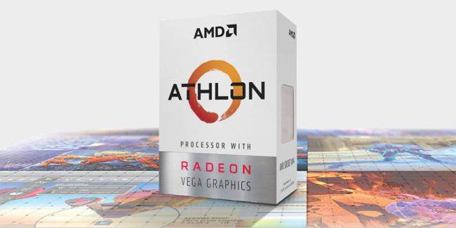 AMD trots out an overclockable Athlon processor with Vega graphics for $49