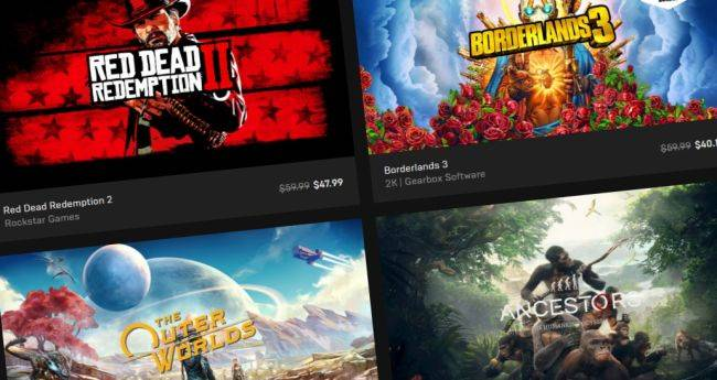 The Epic Games Store's Black Friday sale is live