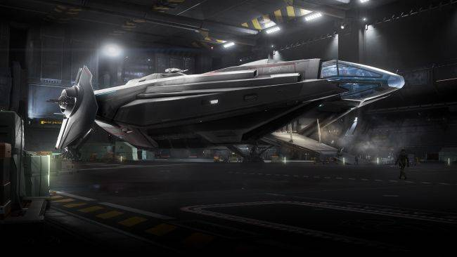 Star Citizen shows off 20v20 mode, snow effects, Anvil Carrack commercial