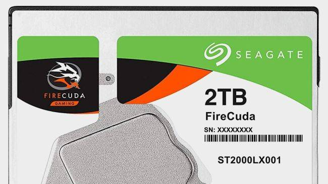 Seagate's 2TB hybrid SSHD is just $60 right now