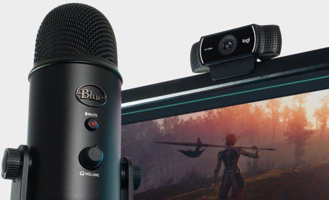 Get a Blue Yeti microphone and Logitech C922 Pro webcam for $129