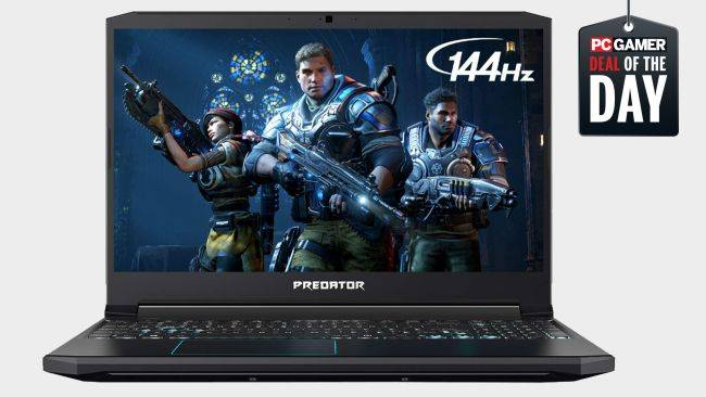 Save $300 on this Acer Predator Helios 300 gaming laptop with a GTX 1660 Ti GPU and a 144Hz display