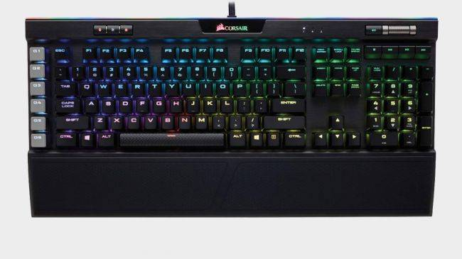 Corsair's K95 Platinum mechanical keyboard is just $120 right now
